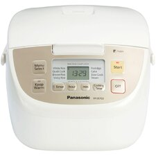 <strong>Panasonic®</strong> 5 Cup Fuzzy Logic Rice Cooker