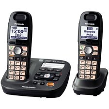 <strong>Panasonic®</strong> Dect 6.0 Plus Cordless Amplified Phone