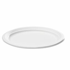 Naturehouse Bagasse Oval Plate, 125/Pack
