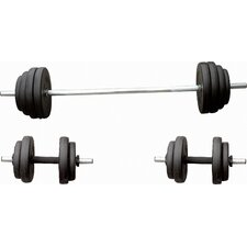 100 lbs Barbell / Dumbbell Set
