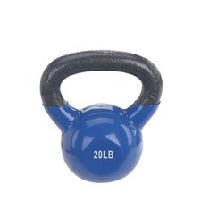 <strong>Sunny Health & Fitness</strong> 20 lbs Vinyl Coated Kettle Bell