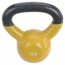10 lbs Vinyl Coated Kettle Bell