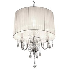 Beaumont 4 Light Crystal Chandelier