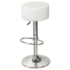 Button 56 cm Adjustable Bar Stool