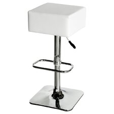 Square 77 cm Adjustable Bar Stool