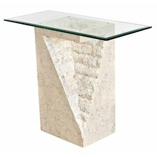 Athens Pedestal Console Table