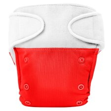 Basic One Size Hook and Loop Closure Cloth Diaper