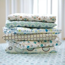 Vintage Twig Pattern Crib Sheet