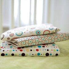 Classic Dot Pattern Crib Sheet