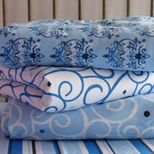 Luxe Blue Changing Pad Cover