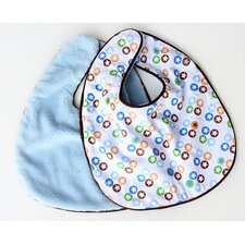 Boutique Star Dot Bib Set (Set of 2)