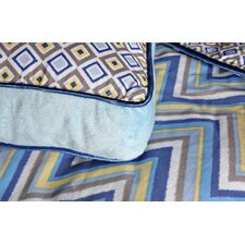 <strong>Caden Lane</strong> Ikat Boy Square Pillow