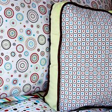 Classic Neutral Square Cotton Pillow