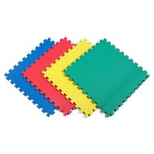 <strong>Norsk Floor</strong> Recyclamat Solid Color Foam Mats in Multi-color (Pack of 4)