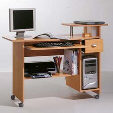 Computer Desk with 5 Shelves