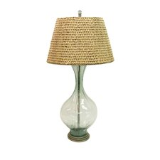 Glass Float Table Lamp