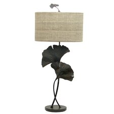 "Gingko 35.5"" H Table Lamp with Drum Shade"