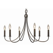 Maisonette 6 Light Dining Chandelier