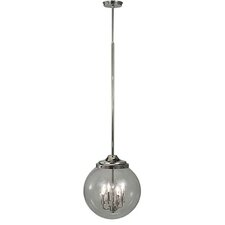 Moderne 4 Light Globe Pendant