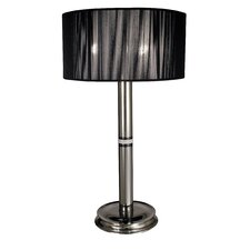 Princessa Portable Lamp with Ebony Accents
