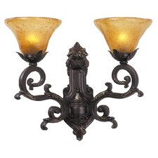 <strong>Framburg</strong> Palazzo 2 Light Wall Sconce