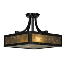Evolution 2 Light Semi Flush Mount