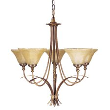 Reverie 5 Light Dining Chandelier