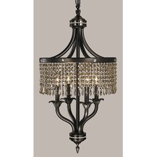<strong>Framburg</strong> Empress 4 Light Dinette Chandelier