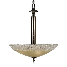 Brocatto 3 Light Dining Chandelier
