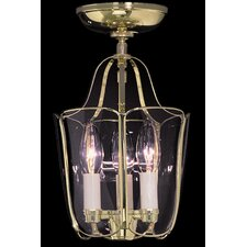Yorkshire 3 Light Semi Flush Mount