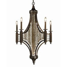 <strong>Framburg</strong> Waterfall 5 Light Dining Chandelier