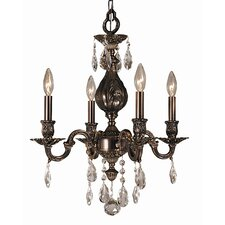 Sarabande 4 Light Mini Chandelier