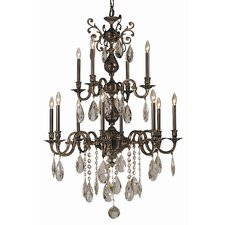 Sarabande 12 Light Foyer Chandelier