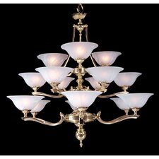 Fin De Siecle 15 Light Foyer Chandelier