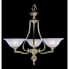 Fin De Siecle 3 Light Dinette Chandelier