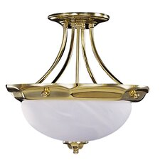 Fin de Siecle Semi Flush Mount