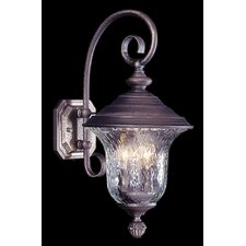 Carcassonne 3 Light Outdoor Wall Lantern