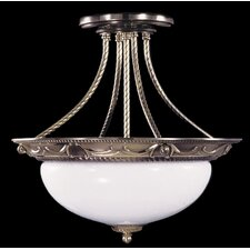 Napoleonic Semi Flush Mount