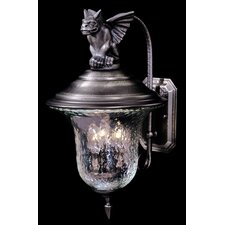 <strong>Framburg</strong> Carcassonne 3 Light Outdoor Wall Lantern
