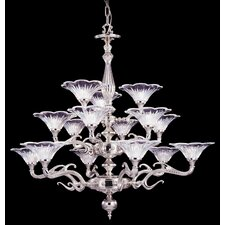 <strong>Framburg</strong> Geneva 15 Light Foyer Chandelier