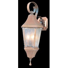 Normandy 3 Light Outdoor Wall Lantern