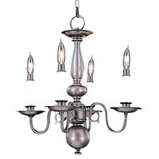 Jamestown 4 Light Mini Chandelier
