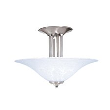Bellevue 3 Light Semi Flush Mount