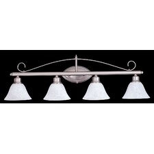 Metalcraft 4 Light Vanity Light