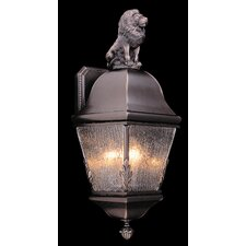 Coeur de Lion 3 Light Outdoor Wall Lantern