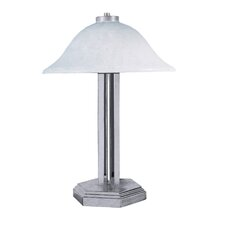 "Bellevue Portable 18.5"" H Table Lamp with Bowl Shade"