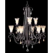 <strong>Framburg</strong> Rhapsody 9 Light Dining Chandelier