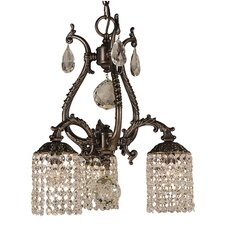 <strong>Framburg</strong> Faustina 3 Light Dinette Chandelier