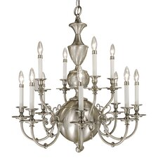 <strong>Framburg</strong> Windsor 12 Light Dining Chandelier
