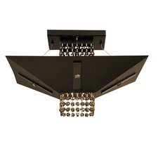Gemini 1 Light Semi Flush Mount
